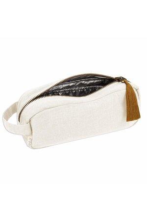 Numero 74 Companion zip pouch M - natural