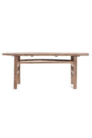 Kalligrafie tafel olmhout - 206cm