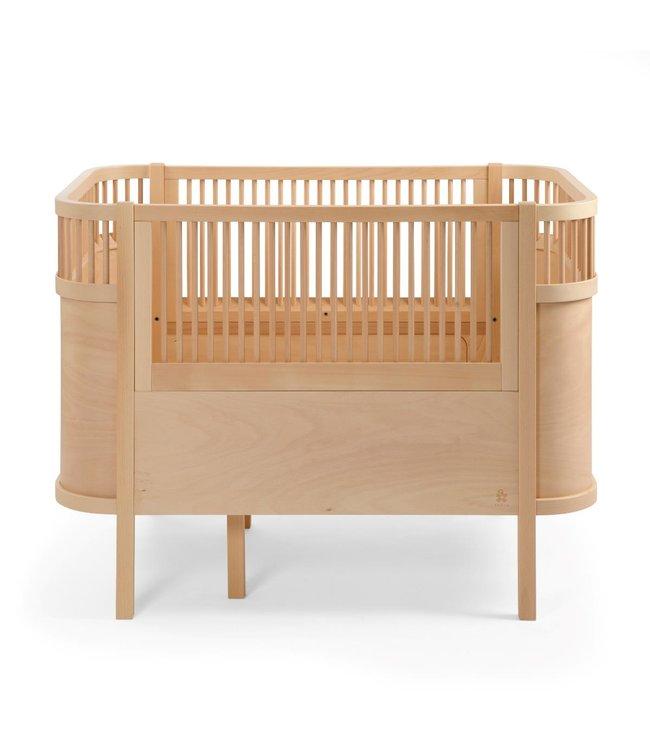 Sebra Sebra bed - baby & junior - wooden edition