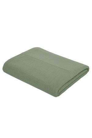 Numero 74 Top flat bed sheet plain - sage green