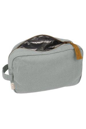 Numero 74 Companion zip pouch L - silver grey
