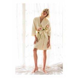 Lords&Lilies badjas dames beige kimono
