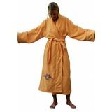 Funky Badjas damesbadjas Lotusbloem met sjaalkraag