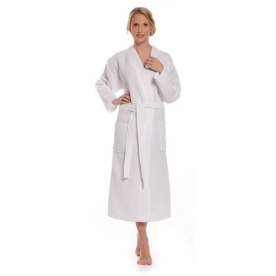 Badrock badjas badjas unisex wit kimono