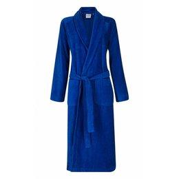 Badrock badjas badjas unisex kobaltblauw met sjaalkraag