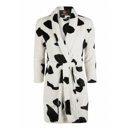 Badrock badjas badjas kind Little Cow met sjaalkraag