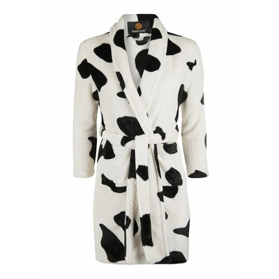 badjas kind Little Cow met sjaalkraag