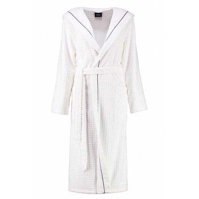 Cawö badjas badjas dames wit met capuchon