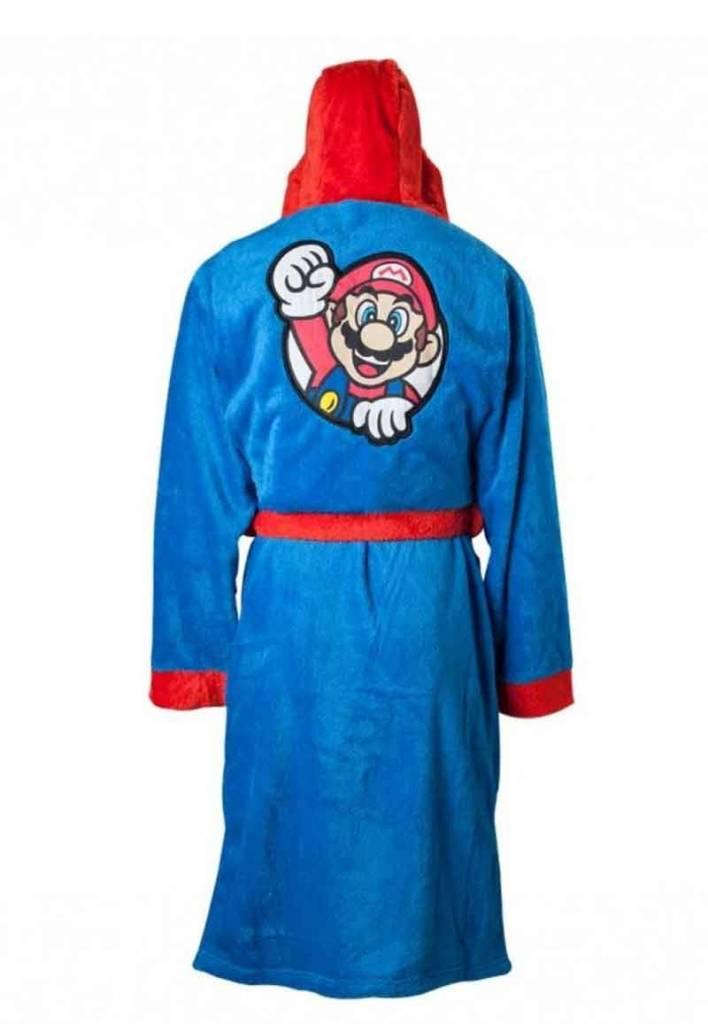 1e8bfbb4e45 Badjas heren Super Mario fleece met capuchon