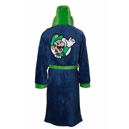 DC Comics badjas Badjas heren Luigi  fleece met capuchon