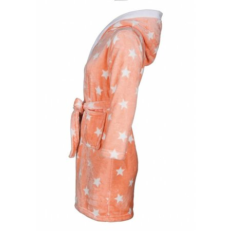 Badrock badjas badjas kind Sterren fleece met capuchon