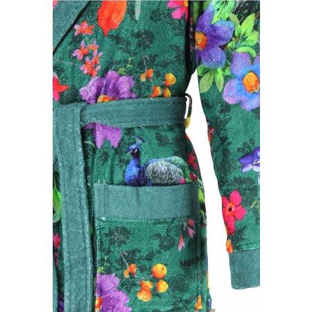 Melli Mello badjas dames Trisia katoen met sjaalkraag