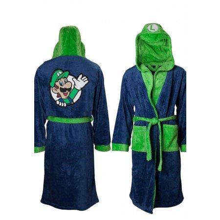 DC Comics  Badjas heren Luigi  fleece met capuchon