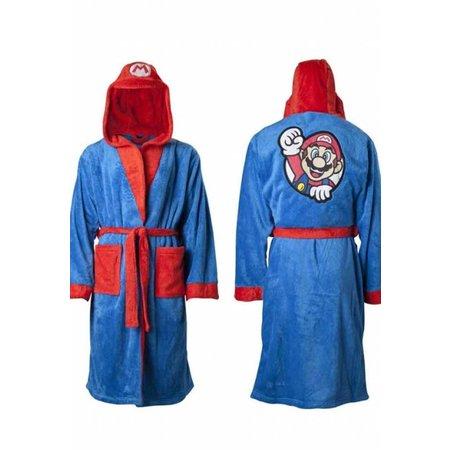 DC Comics  Badjas heren Super Mario fleece met capuchon