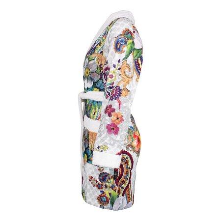Melli Mello badjas dames Keyma katoen met sjaalkraag