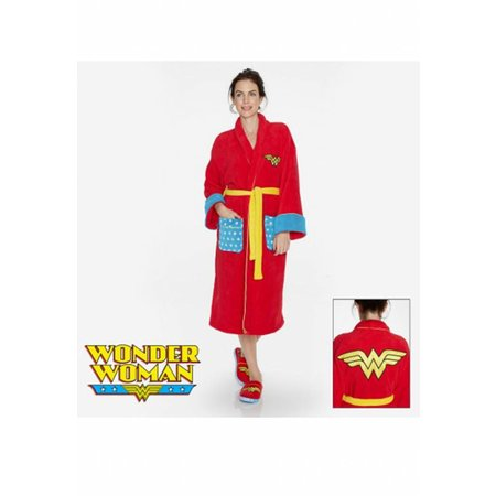 DC Comics badjas dames Wonder Woman fleece