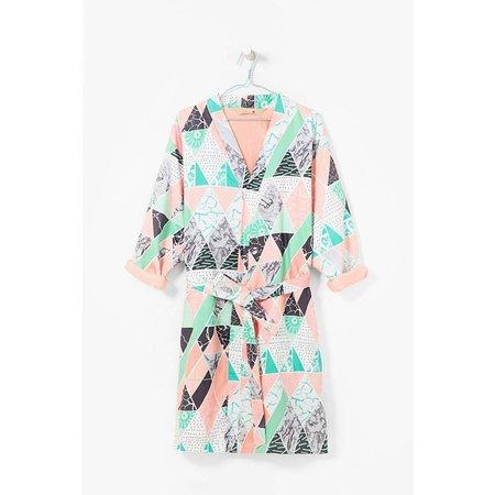 Desigual badjas dames Art katoen kimono