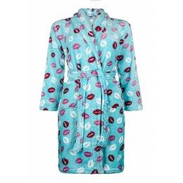 Badrock badjas badjas kind Kusjes met sjaalkraag