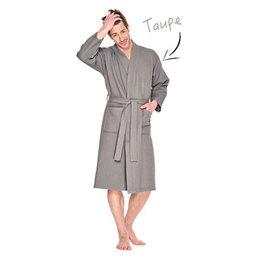Badrock badjas badjas unisex taupe kimono