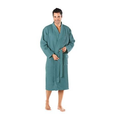Badrock badjas unisex petrol katoen kimono