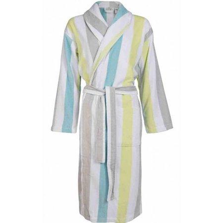 Van Dyck badjas dames Prestige fleece met sjaalkraag
