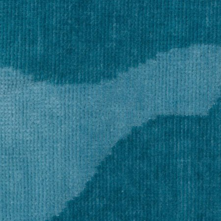 Vossen badjas badjas unisex petrol Legerprint katoen met capuchon