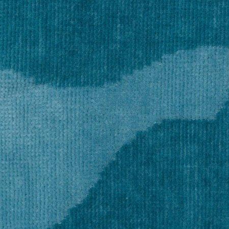 Vossen badjas unisex petrol Legerprint katoen met capuchon