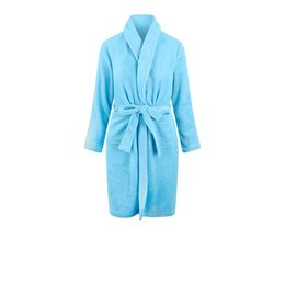 Relax Company badjas kinderbadjas licht blauw