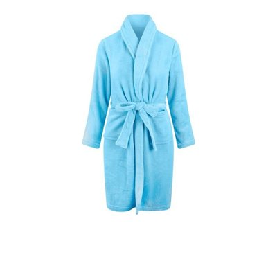 Relax Company kinderbadjas licht blauw