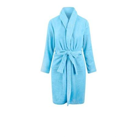 Relax Company badjas Relax Company kinderbadjas licht blauw