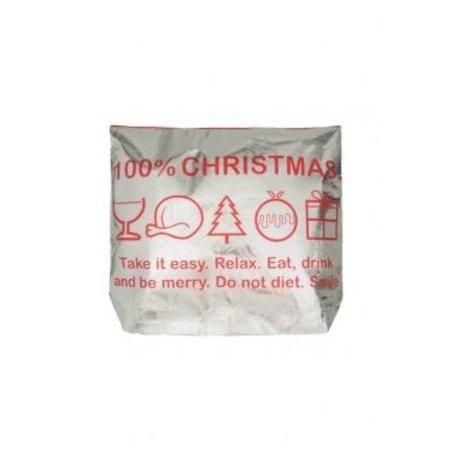 Kersttas voor je badjas