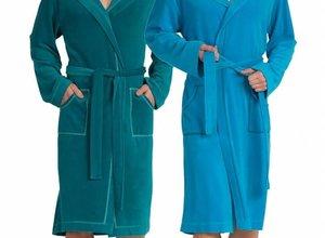 Heren badjassen waar je iedere vrouw mee imponeert!