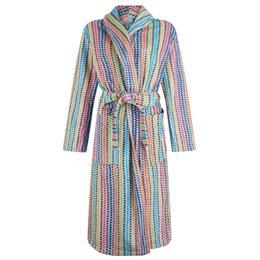 Lasa  badjas dames regenboog kleuren