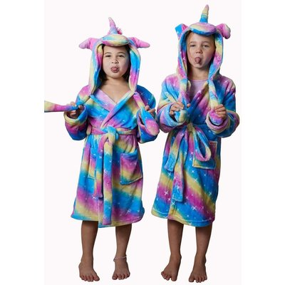 Badrock badjas Unicorn ochtendjas kind