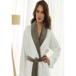 Van Dyck badjas badjas luxe - wit