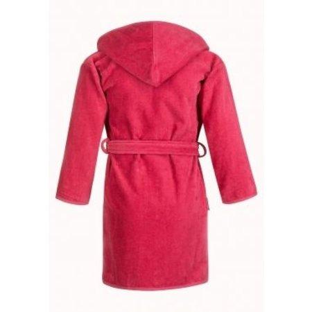 Badrock Baby badjas roze katoen - met capuchon