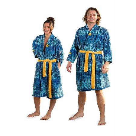 Crazy Comfort badjas badjas retro-stijl - unisex