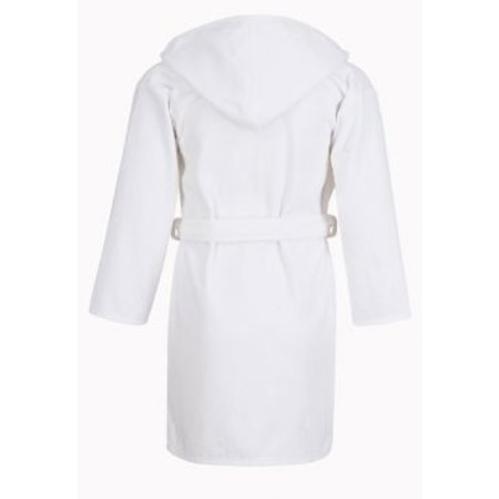Badrock Baby badjas wit met naam borduren