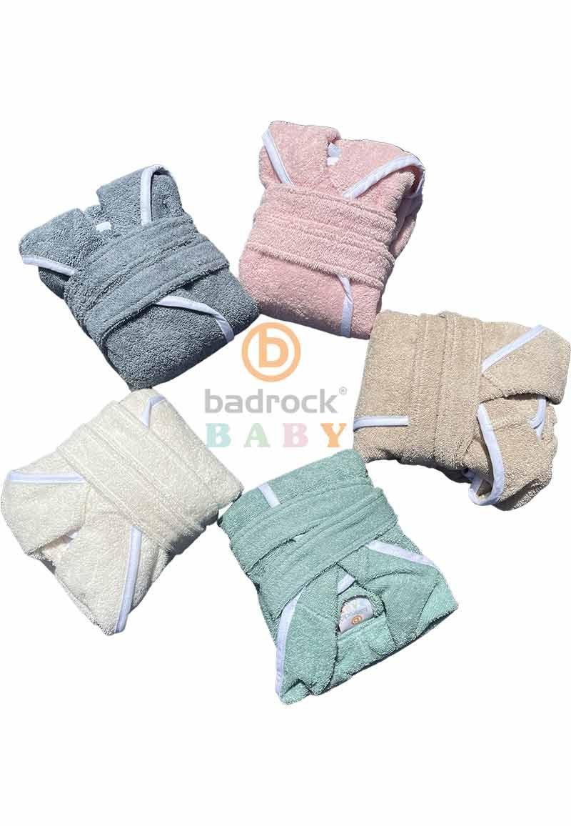 Badrock lanceert baby badjassen in zachte pasteltinten