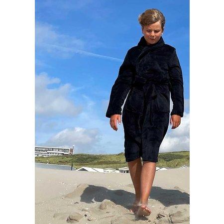 Relax Company  Kinderbadjas zwart