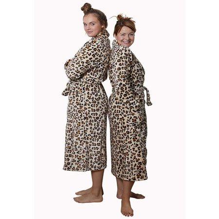 badjas dames Wild Thing fleece met sjaalkraag