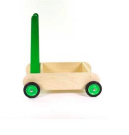 Van Dijk Houten Blokkenwagen Groen