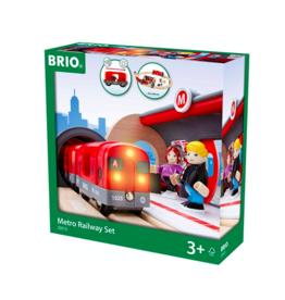 Brio Metro treinset 33513