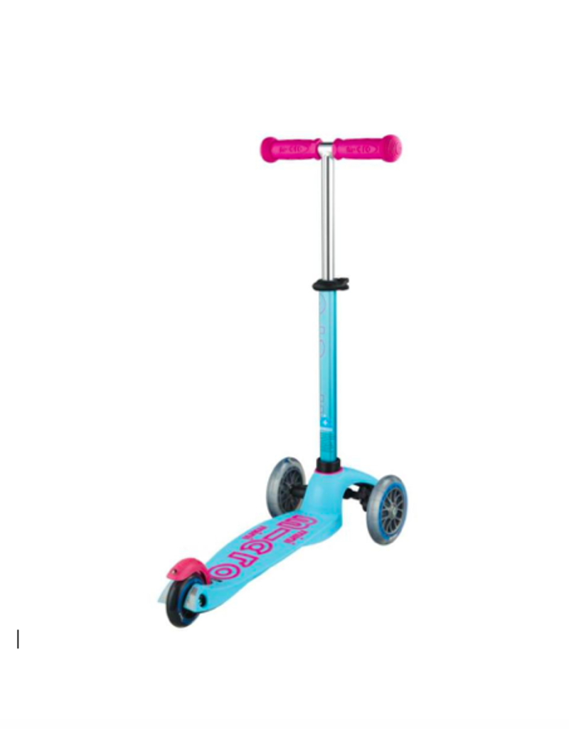 Mini Micro step Deluxe Turqoise/Roze