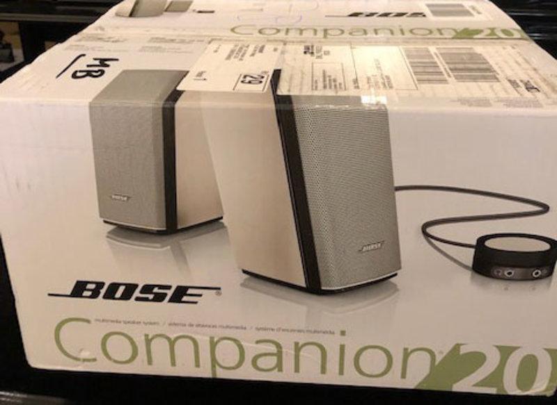Bose Compenion 20 Speaker set