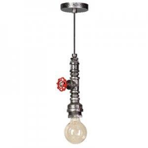 ETH Hanglamp Fire Hose zwart/zilver 05-HL4190-18