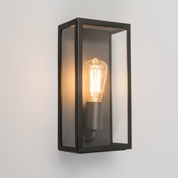 Absinthe LED Wall light Vitrum L Black 24001-02