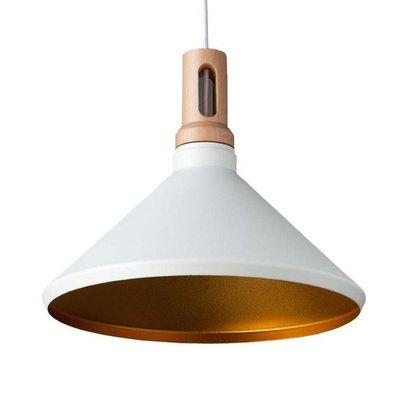 Absinthe Timba regular LED Design hanging lamp white / gold 25020-01.10