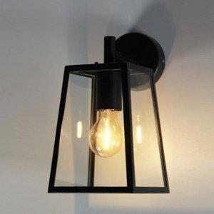 Absinthe LED Wandlamp Lucerna S Zwart 24004-02
