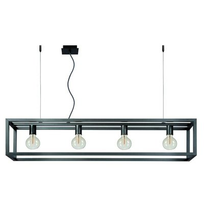 Lucide ORIS LED suspension Alu 31472/04/15